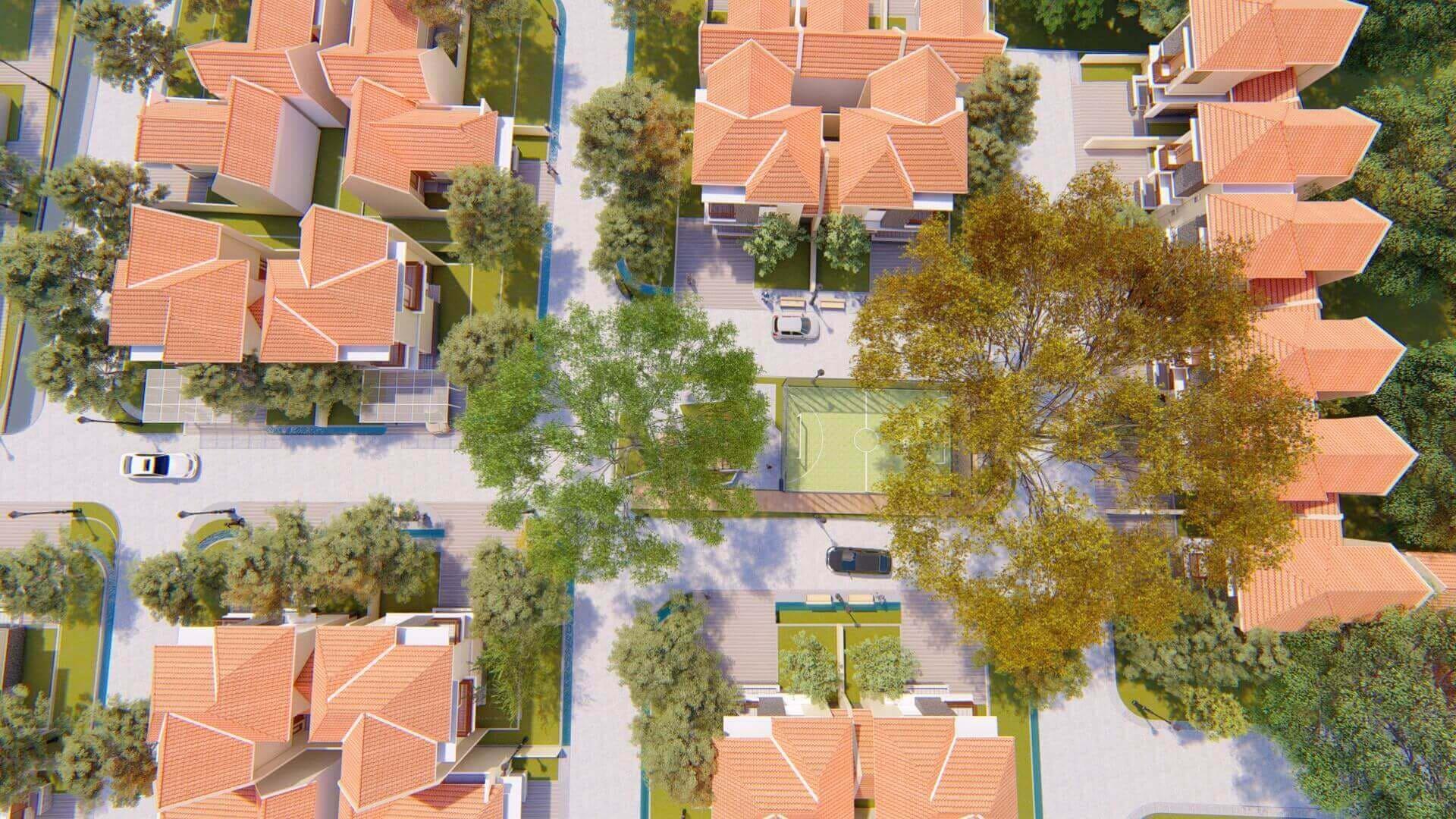 Green-Caraka-Residence-Bird-Eye-View