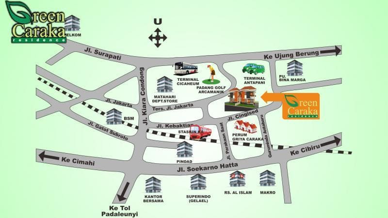 Map-Green-Caraka-Residence